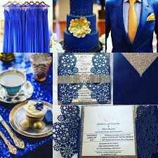 silver and royal blue wedding how to find the best colour to match the navy blue wedding theme