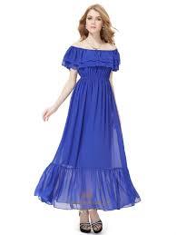 royal blue prom dresses fancy bridesmaid dresses