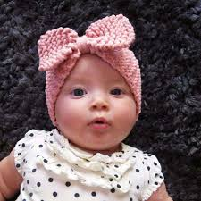 crochet hair band winter crochet headband baby knitted bow hairband arm baby