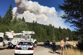Wildfire Map Kamloops by Wildfire Burning 15 Kilometres East Of Kelowna Prompts Evacuations