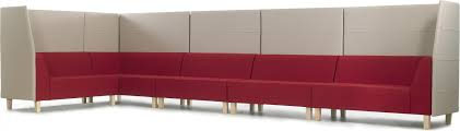 fully upholstered modular bench
