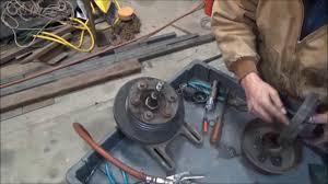 cummins n14 fan clutch solenoid fan clutch repair on a big truck youtube
