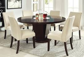 steve silver 72 round dining table steve silver hartford 72 inch round dining table in dark oak