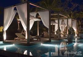 Outdoor Entertainment Center - outdoor entertainment area lounge pool design furniture