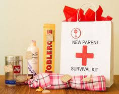 gift baskets for new parents new parent survival kit new parent s survival kit we did it