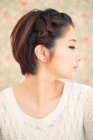 12 pretty braided hairstyles for short hair short hair asian