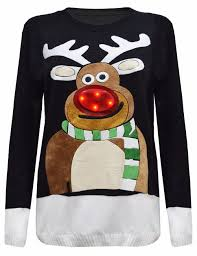christmas tree sweater with lights new womens unisex men christmas tree light up rudolph novelty led