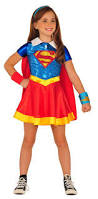 supergirl halloween costumes amazon com imagine by rubies dc superheroes supergirl dress up