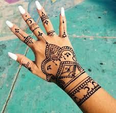 30 besten henna tattoo bilder auf pinterest hennas