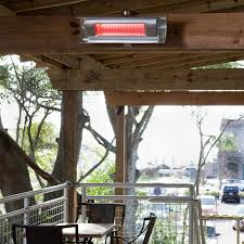 electric infrared patio heater fire sense 1500w electric infrared patio heater 110v with wall