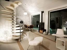inspiring homes with spiral staircases combined metal black