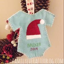 baby s ornament ornaments handmade felt