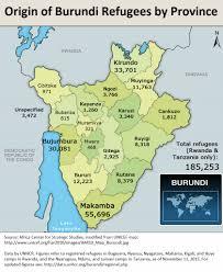 Burundi Map The Political And Security Crises In Burundi
