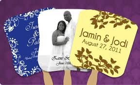 custom church fans wedding fans wedding favors save the date fans