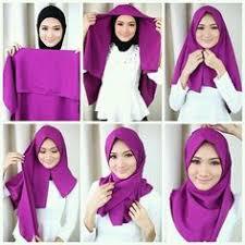 tutorial memakai jilbab paris yang simple cara memakai hijab segiempat terbaru hearthfire pinterest