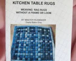 Rag Rug Weaving Instructions Pdf File Amish Knot Rugs Basic Instructions For The Simplest