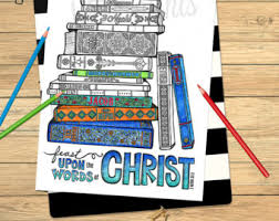 ldscb022 lds coloring pages faith in god includes