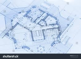 architecture blueprints house plans stock photo 487077766