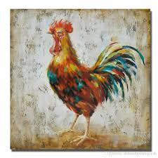 chicken home decor 2018 pictures on wall modern canvas art home decor living room