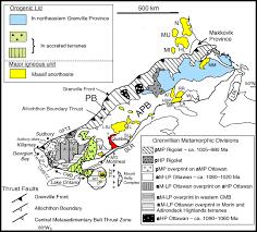 Adirondack Mountains Map Megacrystic Gore Mountain U2013type Garnets In The Adirondack Highlands