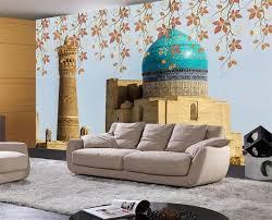 chambre islam 3d chambre papier peint personnalisé mural photo islamique eglise