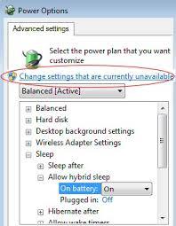 Resume From Hibernation Windows 7 Sleep Problems Hibernate Troubleshooting