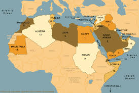 arab map map of the arab world map collection