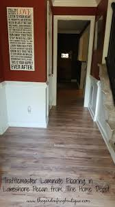 Lowes Floors Laminates Floor Cozy Trafficmaster Laminate Flooring For Your Home Decor