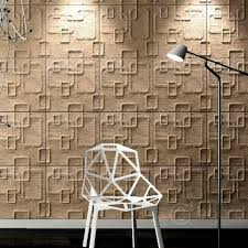 Decorative Wood Wall Panels by Decorative 3d Wall Boards Come With Rectangles Pattern 3d Wall