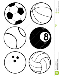 sports clipart black and white many interesting cliparts