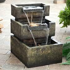 indoor tabletop zen garden waterfall water fountain indoor zen