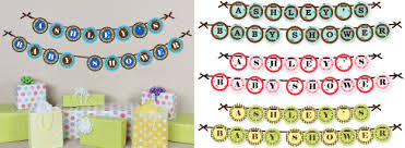 baby shower banners personalized banners for baby shower 13980