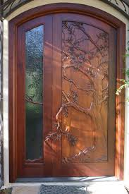 Wood Door Design by Best 25 Unique Front Doors Ideas On Pinterest Iron Work Unique