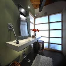 home design pretty waterfall faucet in bathroom contemporary