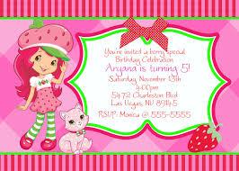 strawberry shortcake baby shower invitations www awalkinhell com