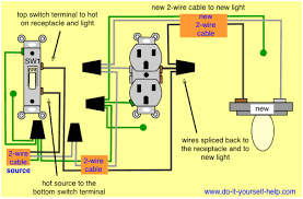 New Light Fixtures Wiring Diagram To Add A Light Fixture To A Switched Receptacle