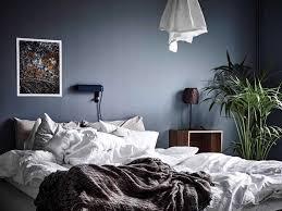 Schlafzimmer Wand Blau Blaue Wände Schlafzimmer