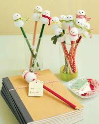 snowman pencils snowman pencil toppers and stocking fillers