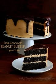 dark chocolate peanut butter layer cake low carb and gluten free