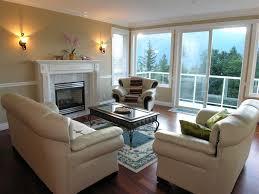 Glass Tv Cabinet Designs For Living Room Living Room Spacious Living Room Design With Grey Brick