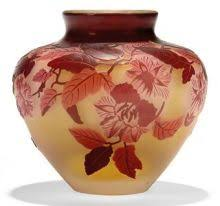 Galle Vase Emile Galle Morning Glory Vase C1900 Suntory Museum Japan A
