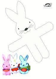 free printable bunny wrap template printables for kids easter