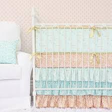 blankets u0026 swaddlings mint green baby crib bedding in