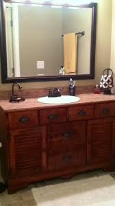 Repurposed Bathroom Vanity by 11 Best Bathroom Vanity From Old Dresser Images On Pinterest