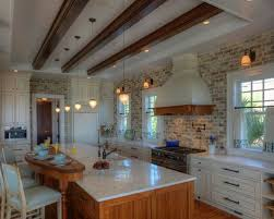 Veneer Kitchen Backsplash Brick Veneer Backsplash Houzz