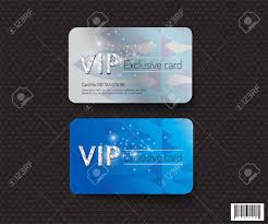 Credit Card Design Template Vip Card Template Design Luxury Concept Vector File Royalty Free