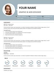 free resume template microsoft word centrum simple resume template