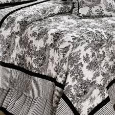 Toile De Jouy Decoration Toile De Jouy Cotton Quilt Bedding