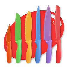 Kitchen Knives Reviews Amazon Com Kitchen Knife Set Plus Bonus Cutting Board And Free