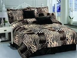 king size animal print comforter set foter